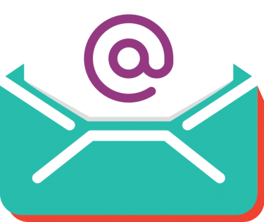 illustration of an email message